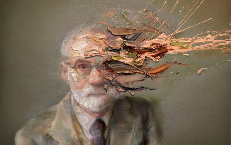 Sigmund Freud by Mathieu Laca