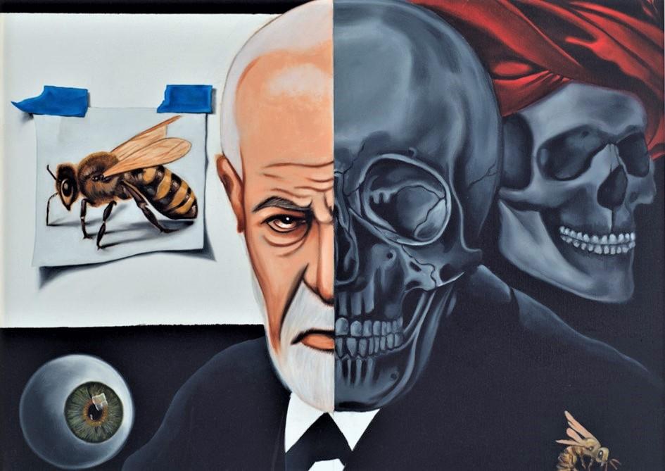 Sigmund Freud by Jason Arnold